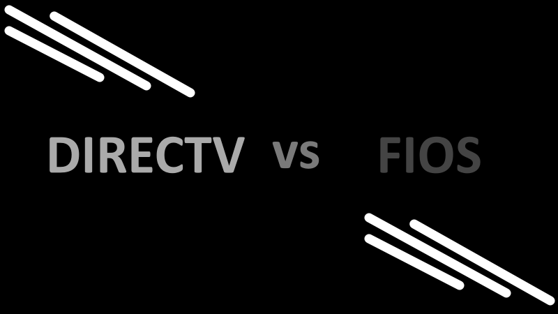Does Directv Have Internet Service >> Directv Vs Fios Which One Should You Pick For Better Tv