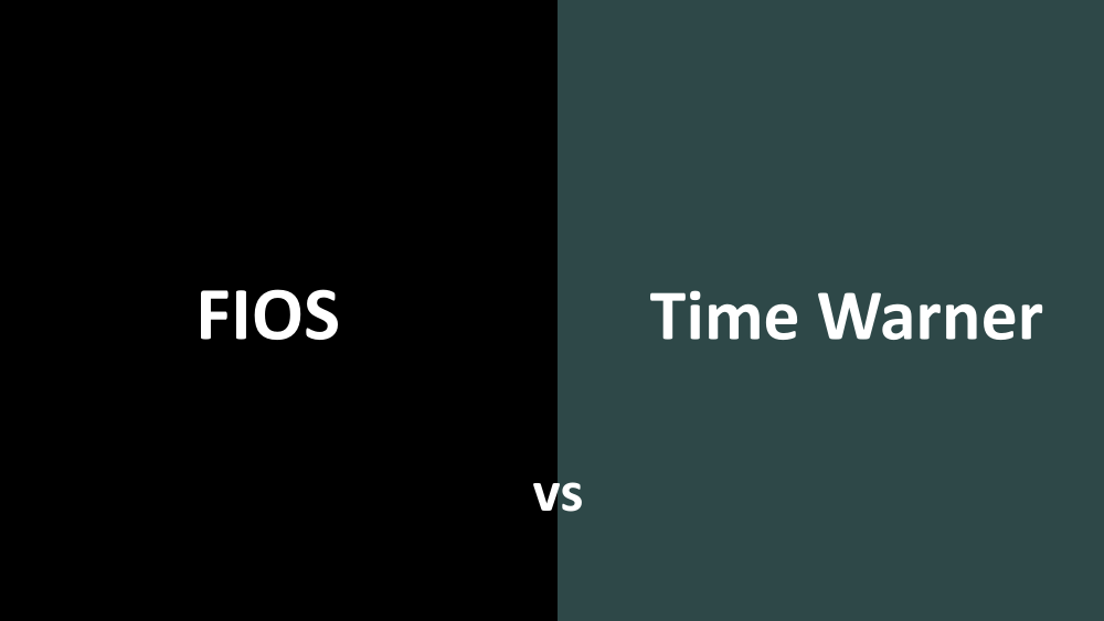 Fios vs Time Warner