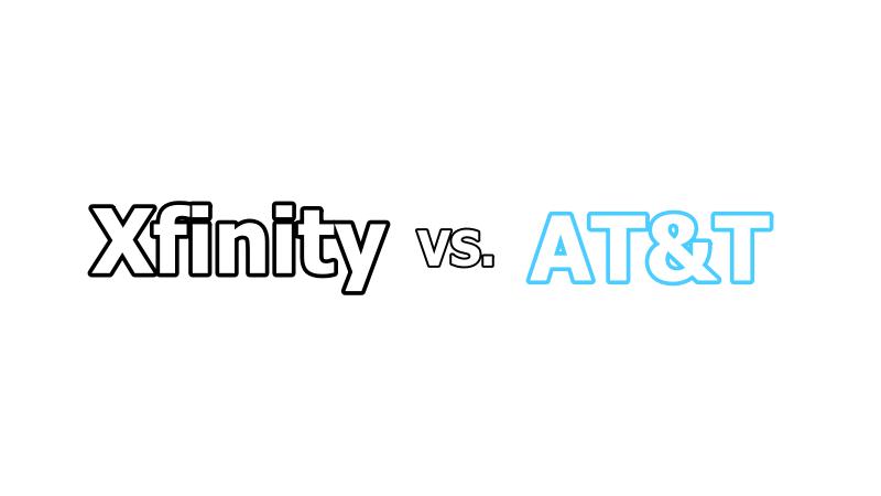 xfinity vs at&t